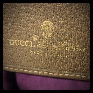 RARE Vintage Gucci wallet/checkbook